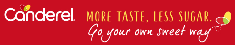 Canderel® More taste, less sugar. Go your own way