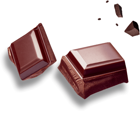 Canderel® Chocolate broken into small pieces
